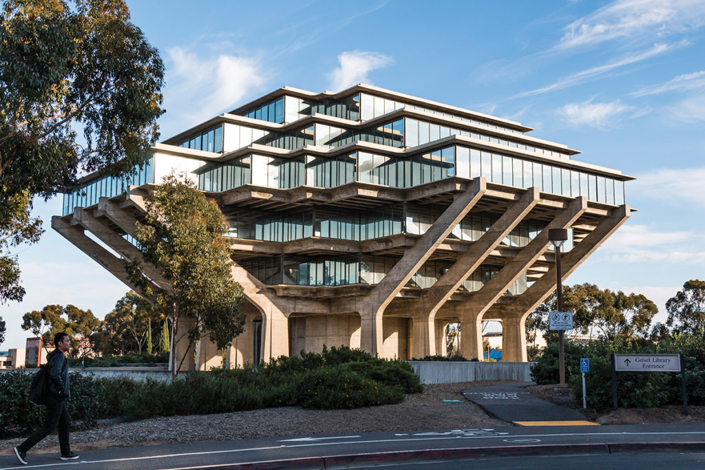 This image has an empty alt attribute; its file name is Geisel-Library-r-1024x683.jpg